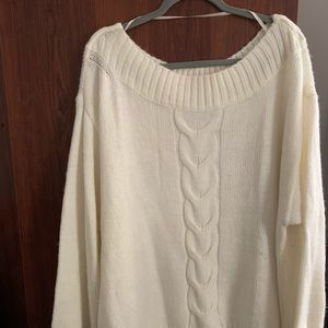 Lane Bryant Cozy Cable Knit Sweater